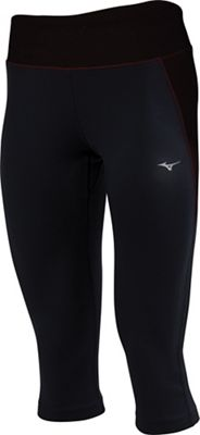Mizuno Women's Aero Color Blocked  3/4 Tight