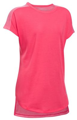 Under Armour Girls' UA Threadborne Play Up Tee