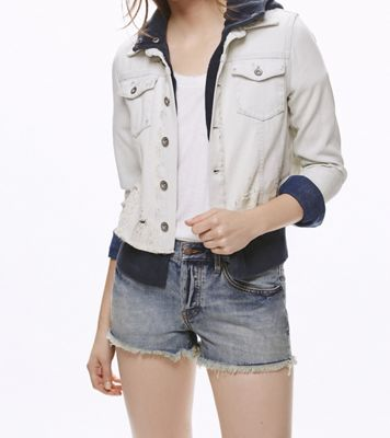 Free People Women's Double Weave Denim Jacket