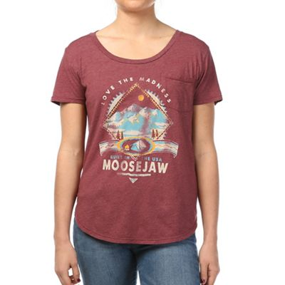Moosejaw Women's In the Air Tonight Vintage Flowy SS Tee