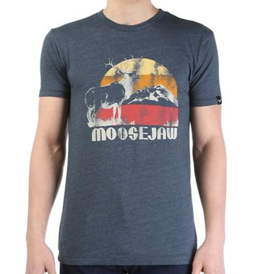 Moosejaw Men's Sunglasses At Night Vintage Slim SS Tee