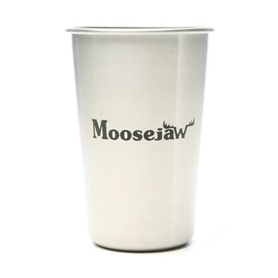 Moosejaw 16oz. Stainless Steel Pint Cup