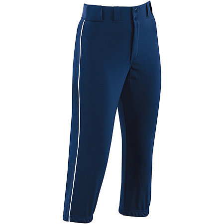 WOMENS PIPED PROSTYLE LOW-RISE SOFTBALL PANT