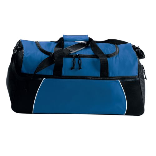 TRI-COLOR DUFFEL BAG