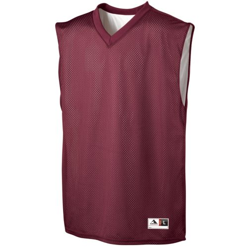 TRICOT MESH/DAZZLE REVERSIBLE JERSEY