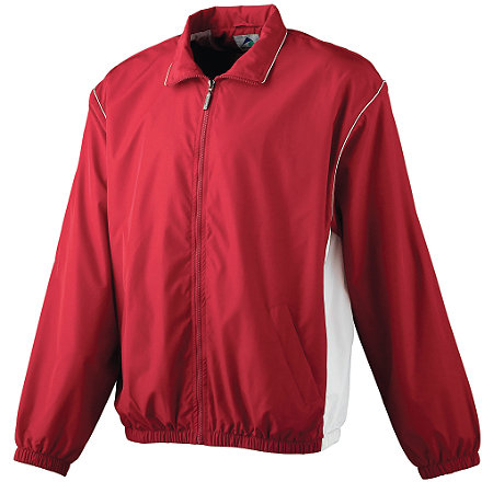 YOUTH MICRO POLY FULL-ZIP JACKET