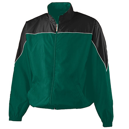YOUTH MICRO POLY COLOR BLOCK JACKET