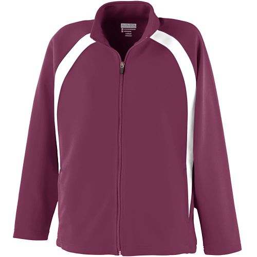 LADIES DOUBLE KNIT COLOR BLOCK JACKET