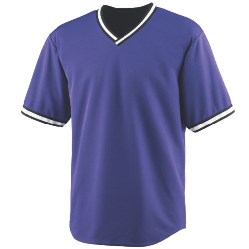 WICKING V-NECK BASEBALL JERSEY - YOUTH