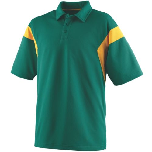 WICKING TEXTURED SIDELINE SPORT SHIRT