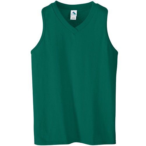 GIRLS SIX-OUNCE RACERBACK V-NECK JERSEY