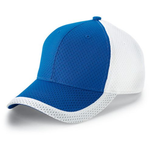 COLOR BLOCK ATHLETIC MESH CAP-ADULT