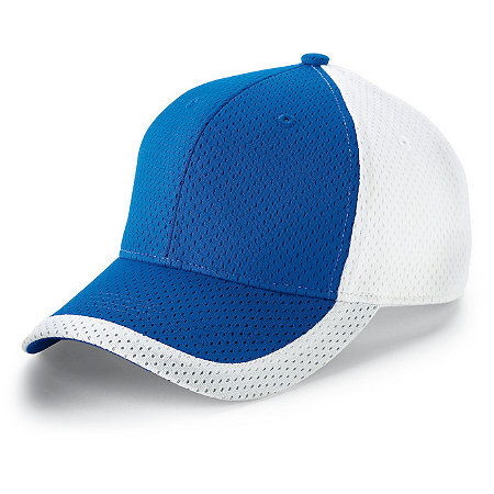 COLOR BLOCK ATHLETIC MESH CAP-YOUTH