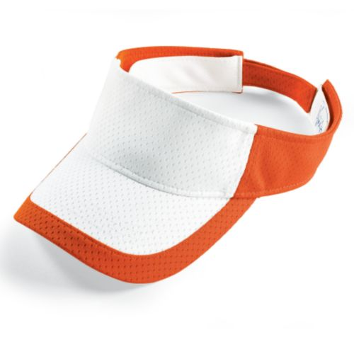 COLOR BLOCK ATHLETIC MESH VISOR-ADULT
