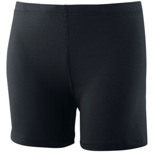 GIRLS POLY/SPANDEX 4-INCH SHORT