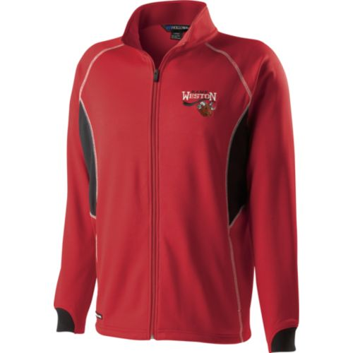 YOUTH MOMENTUM WARM UP JACKET