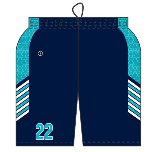 SUBLIMATED BASKETBALL SHORT