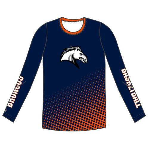 SUBLIMATED FLEECE PULLOVER