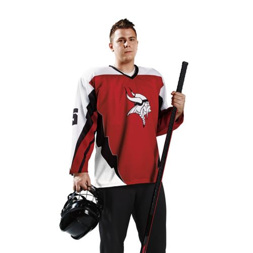 UNHINGE DECORATED SUBLIMATED HOCKEY JERSEY