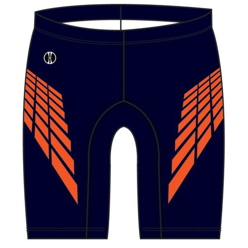 SUBLIMATED FITTED TRACK SHORT - ADULT