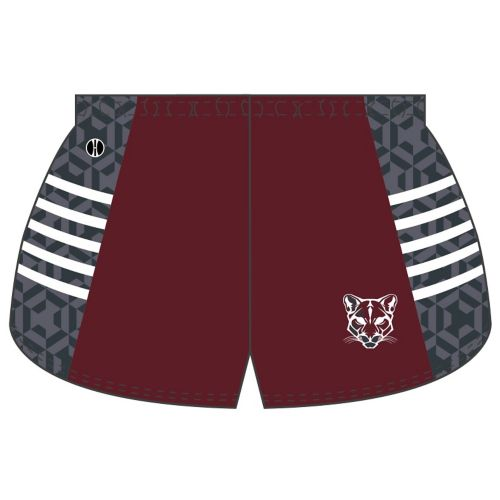 SUBLIMATED TRACK SHORT
