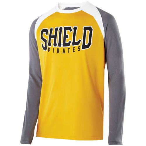 SHIELD DECORATED SHIRT