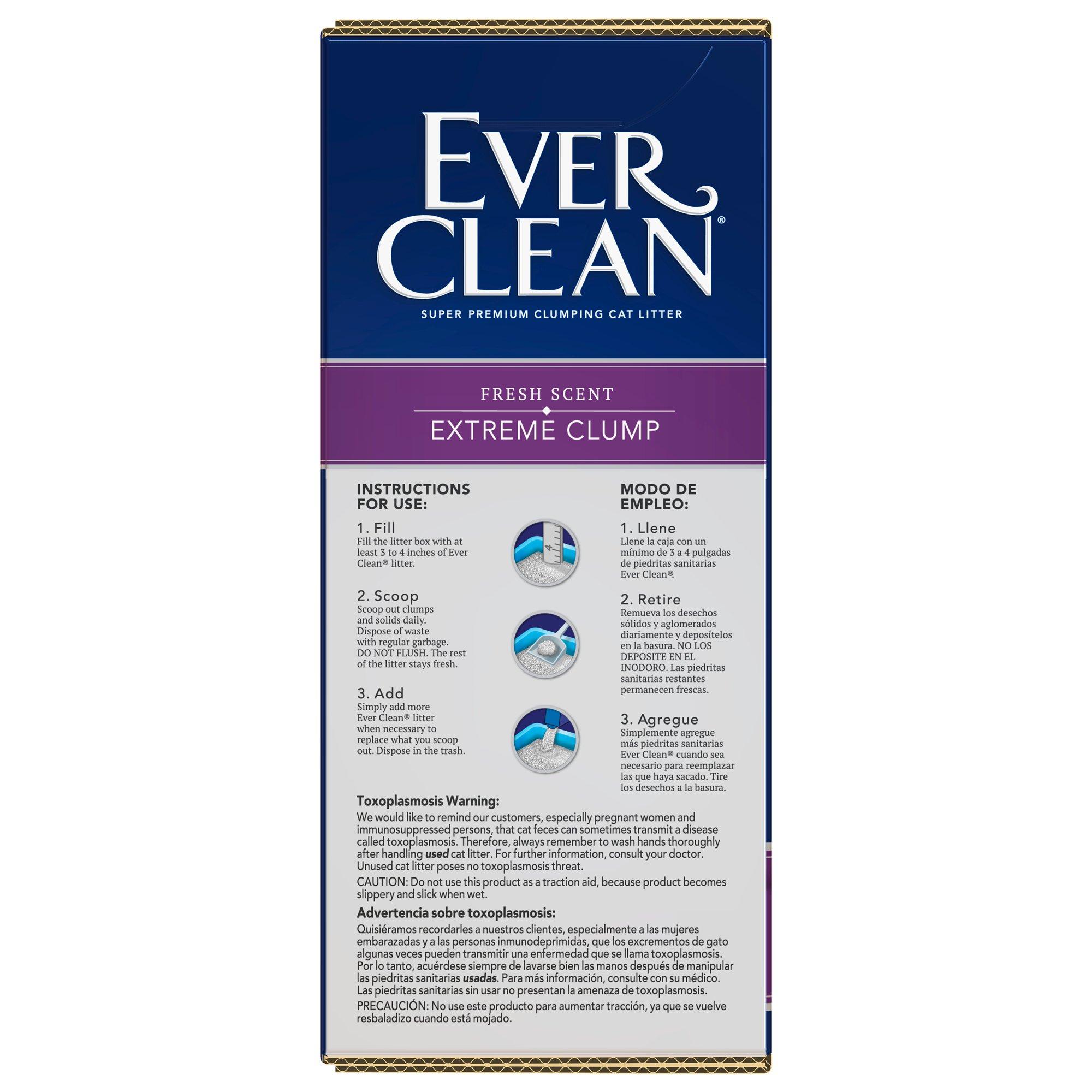Ever Clean Multiple Cat Premium Clumping Cat Litter