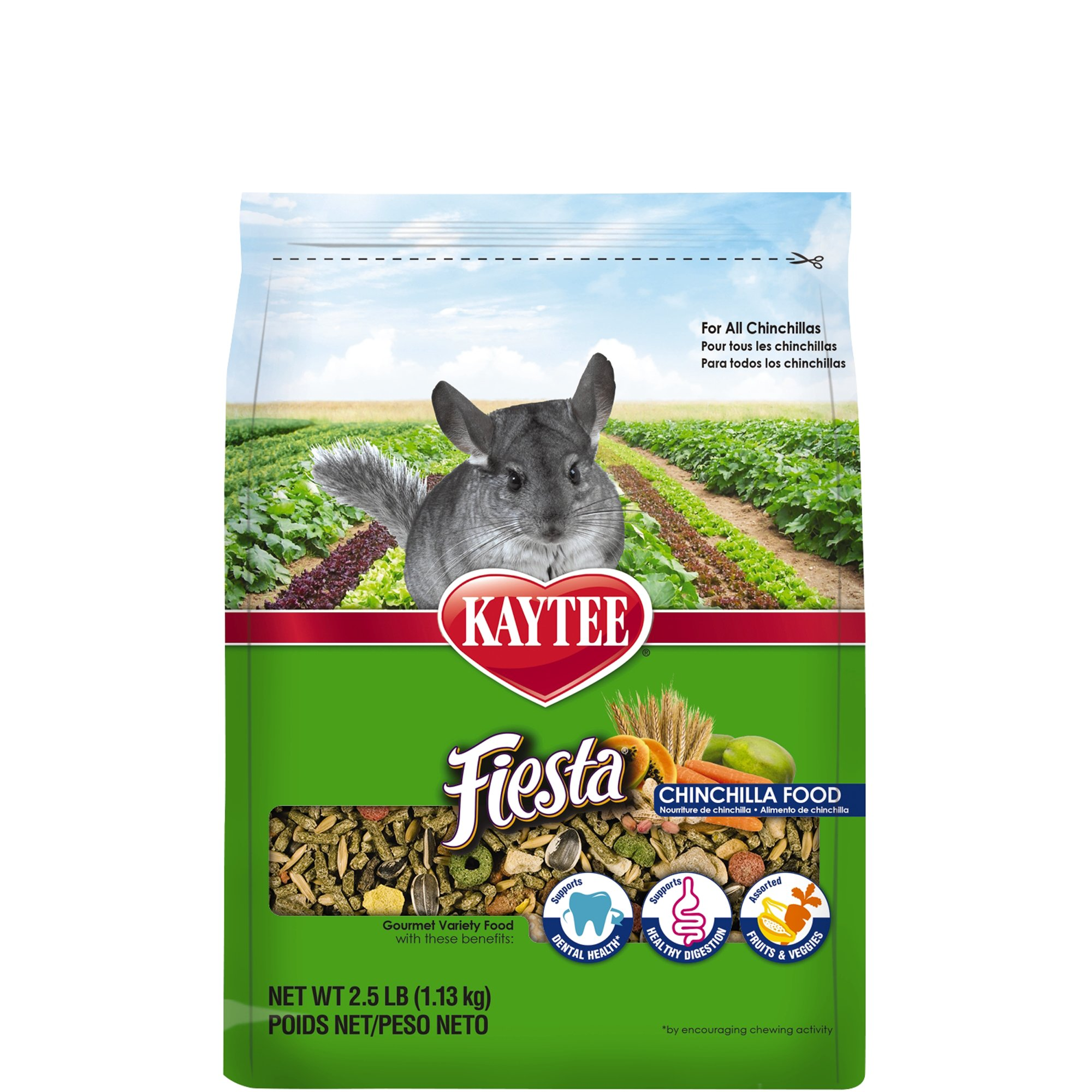 Kaytee Fiesta Food for Chinchillas