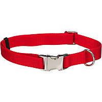 Coastal Pet Personalized Adjustable Nylon Spectra Collar in Red, 5/8' Width
