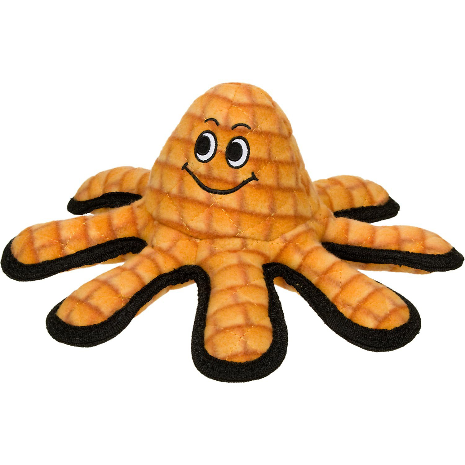 VIP Products Tuffy's Orange Octopus Dog Toy