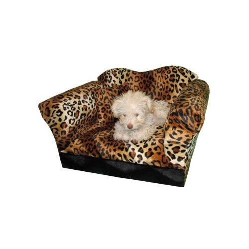 Fantasy Furniture Homey Sofa in Leopard Stripe