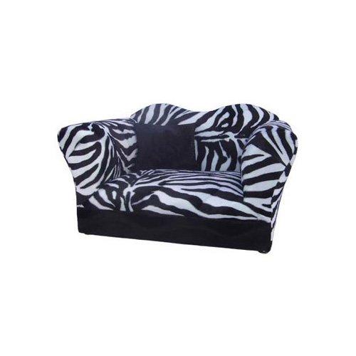 Fantasy Furniture Homey Sofa in Zebra Stripe