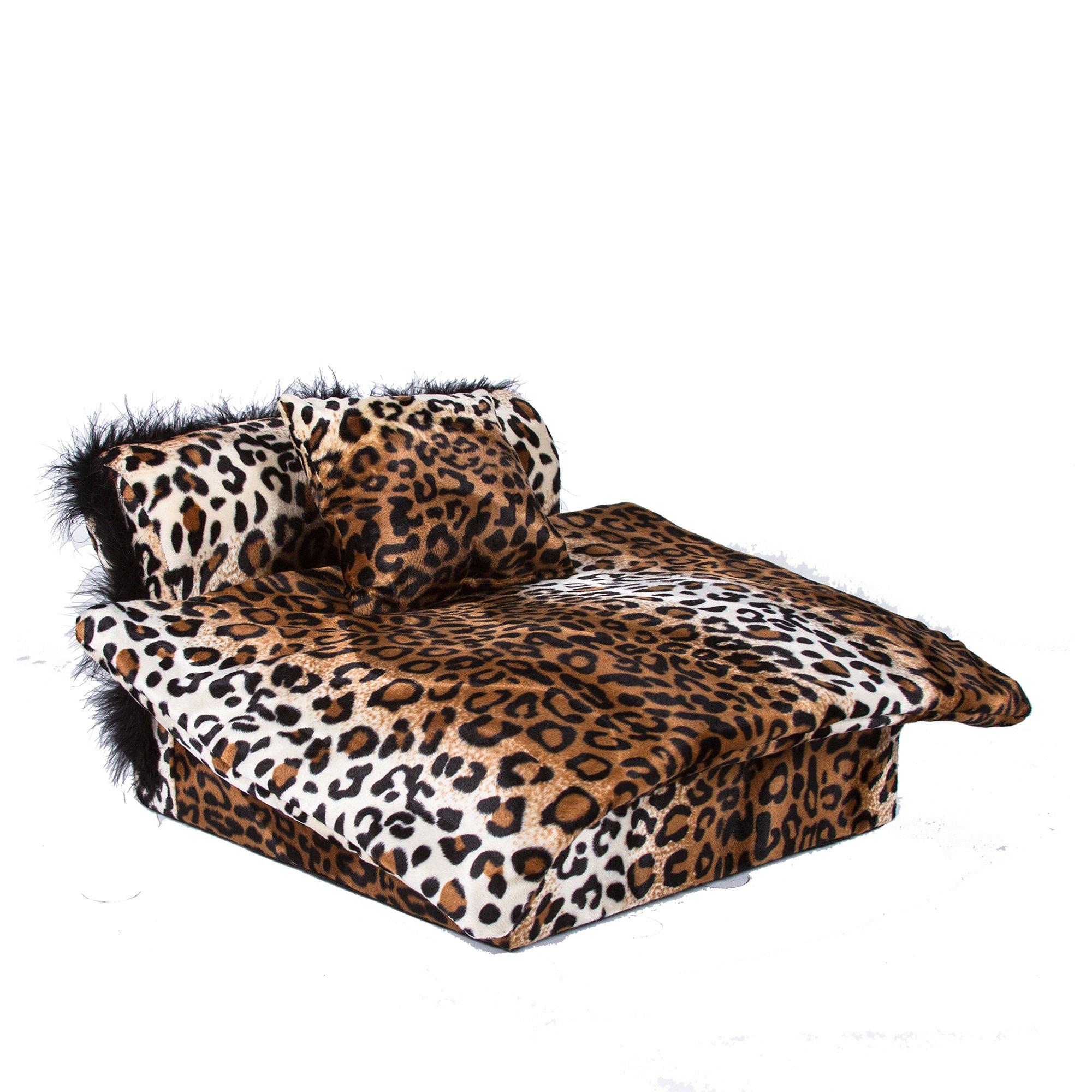 Fantasy Furniture Heaven Bed in Leopard Stripe
