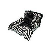 Fantasy Furniture Heaven Bed in Zebra Stripe