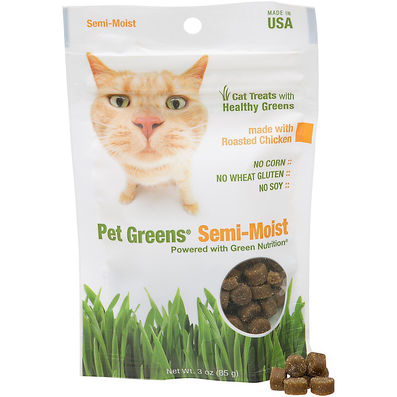 Pet Greens Roasted Chicken Semi Moist Cat Treats
