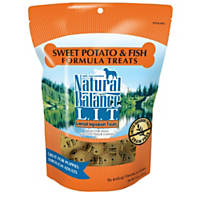 Natural Balance L.I.T. Sweet Potato & Fish Formula Dog Treats