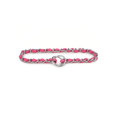 Aspen Pet by Petmate Pink Mighty Link Large Comfort Chain Collars in Pink