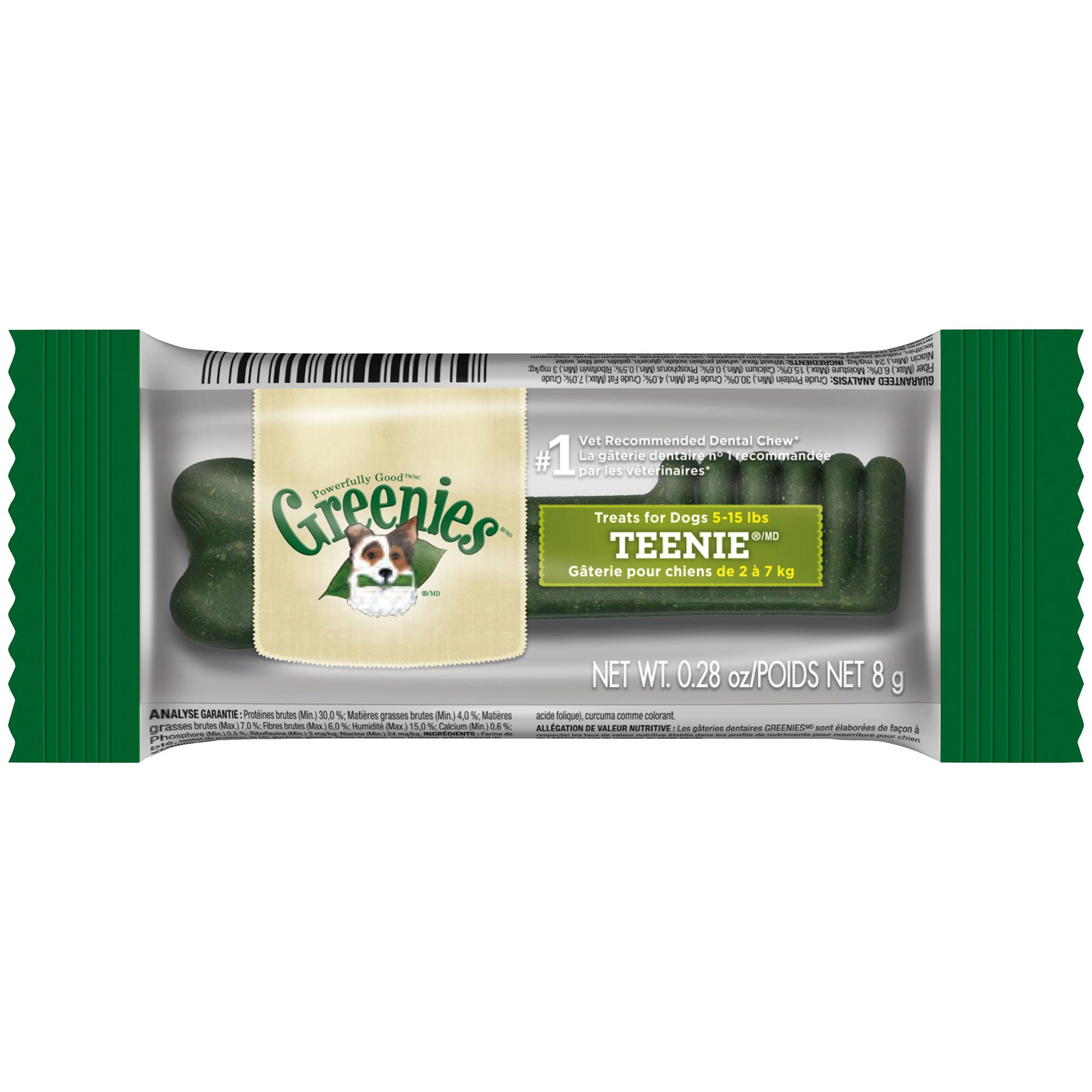 Greenies Individually Wrapped Dental Treats for Dogs