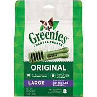 Greenies Large Dental Dog Treats