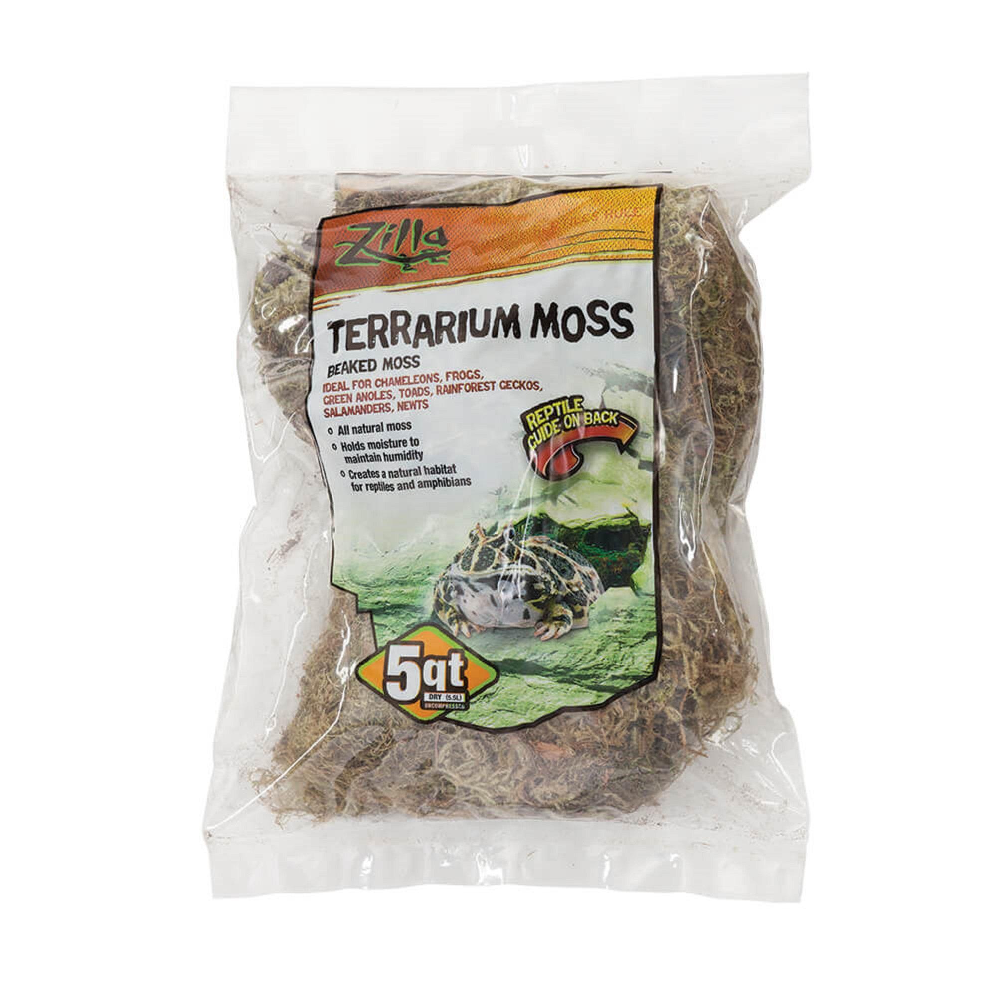Zilla Beaked Moss Reptile Bedding