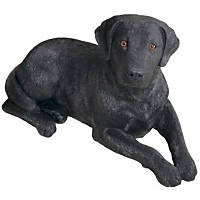 Sandicast Black Labrador Retriever Original Size Figurines