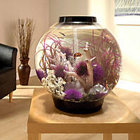 biOrb Black Mega Aquarium Kit with Light