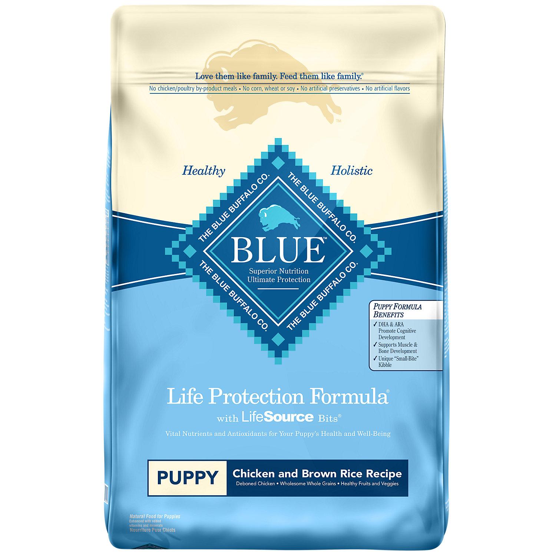 Blue Buffalo Chicken Brown Rice Puppy Food 15 Lbs.