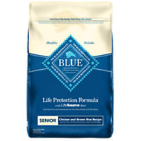 Blue Buffalo Chicken & Brown Rice Senior Dog Food