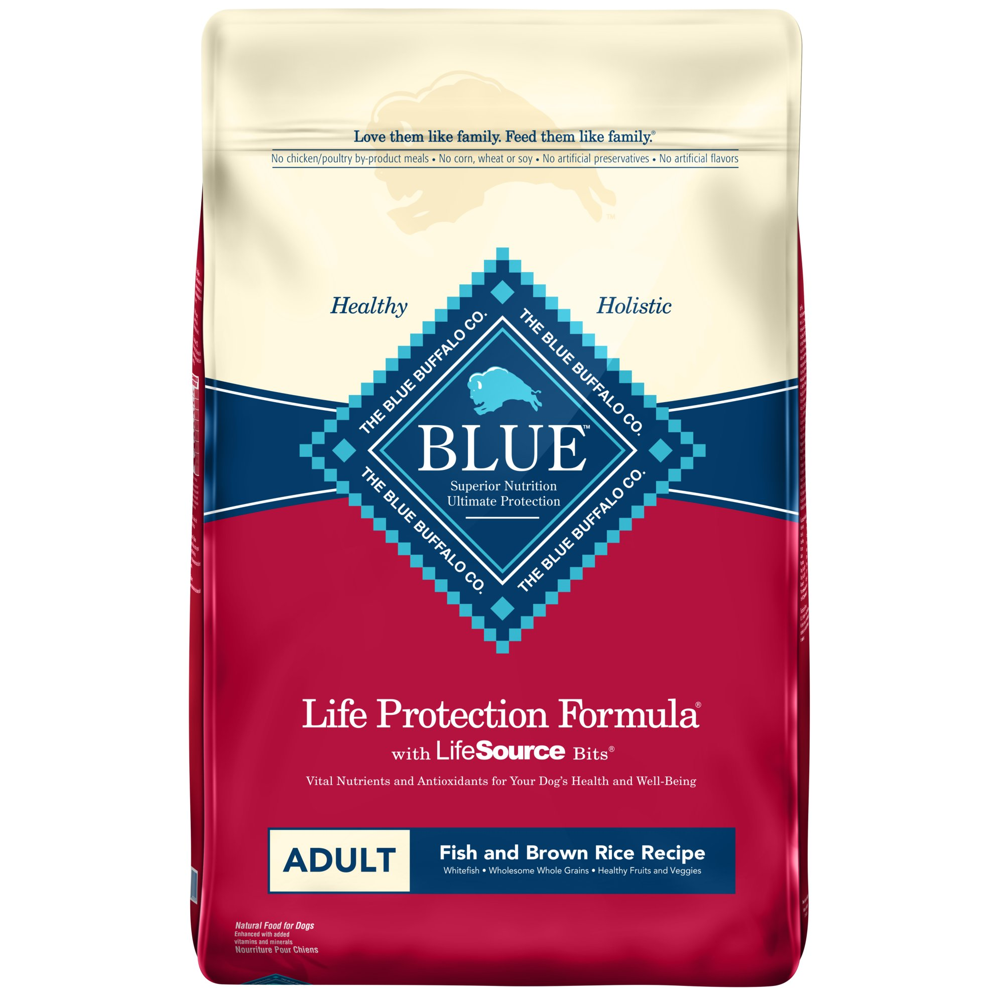 Blue Buffalo Fish & Brown Rice Adult Dog Food