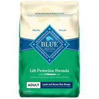 Blue Buffalo Lamb & Brown Rice Adult Dog Food