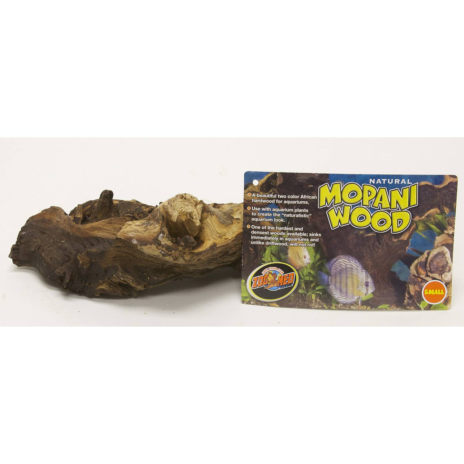 Fish for aquarium online -  12 99 More Details Zoo Med Aquatic Natural Mopani Wood 6 8 Length