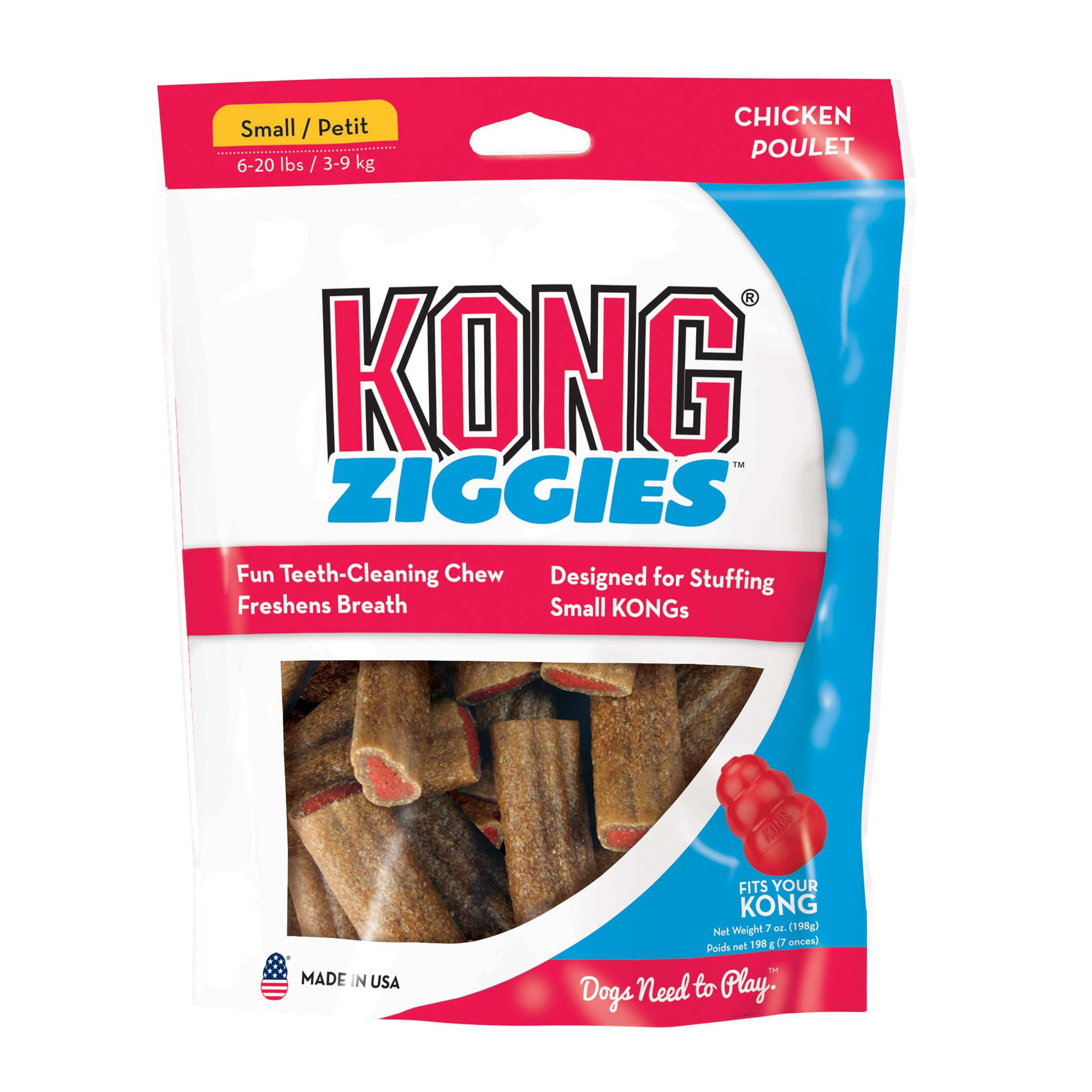 KONG Stuff'N Ziggies Adult Dog Treats