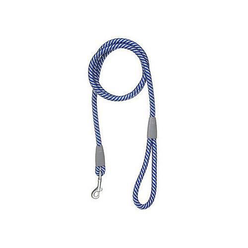 Aspen Pet by Petmate Mountain Dog Leash in Blue & Gray, 13 MM Width