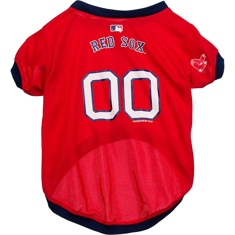 Boston Red Sox MLB Dog Jersey